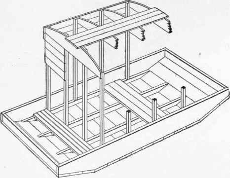 Bill Durham Shantyboat Plan