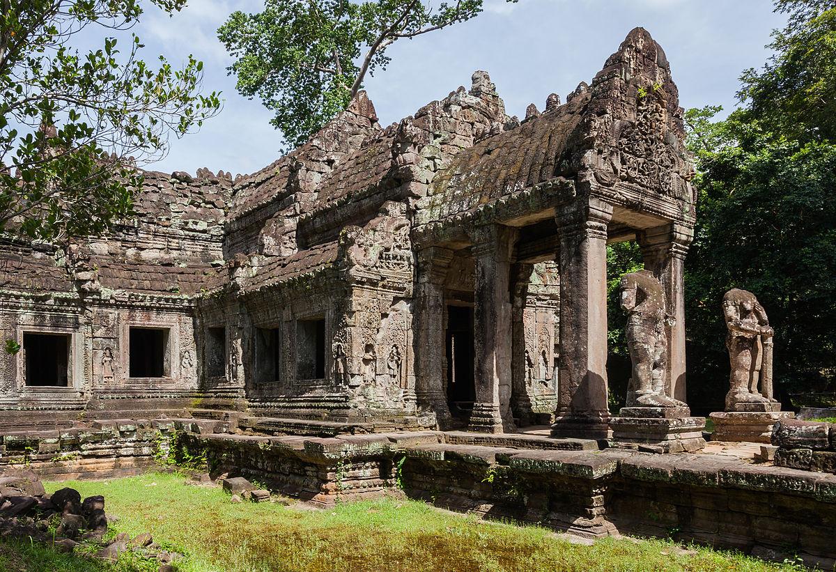 trip around cambodia's temples