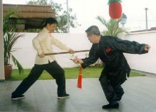 Right aplication of sword