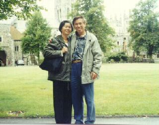 Sifu Wong and his wife
