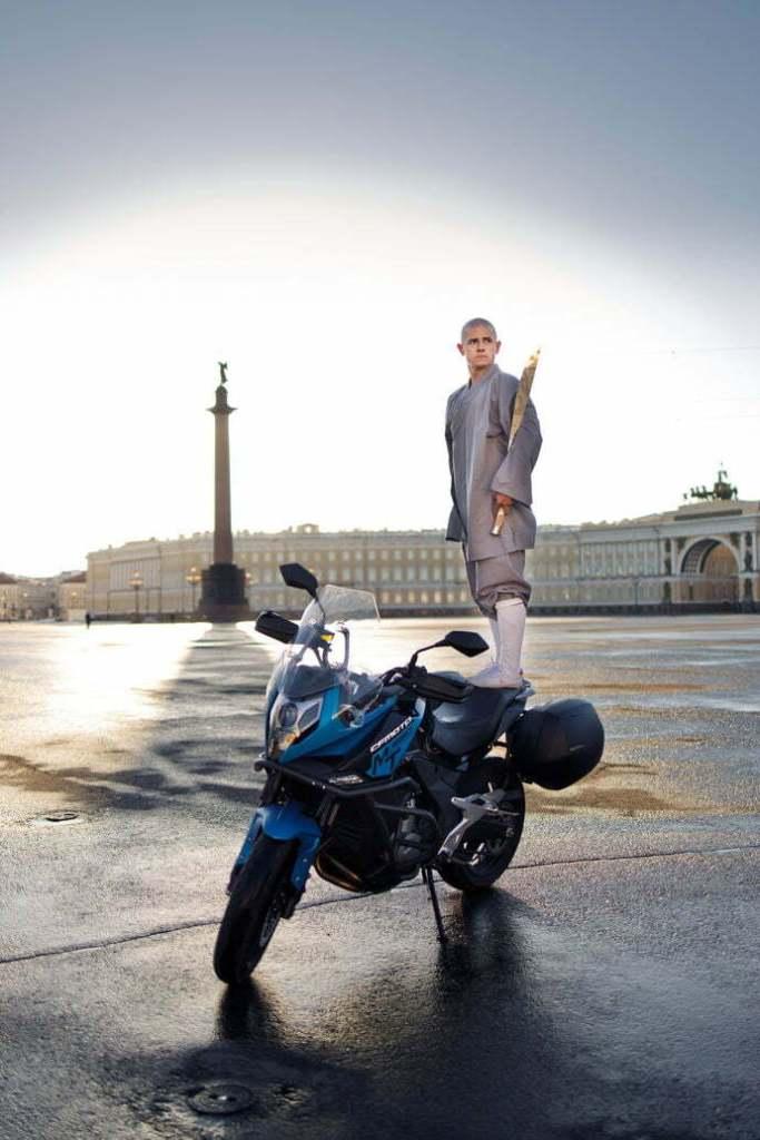 В Шаолинь на мотоцикле 1