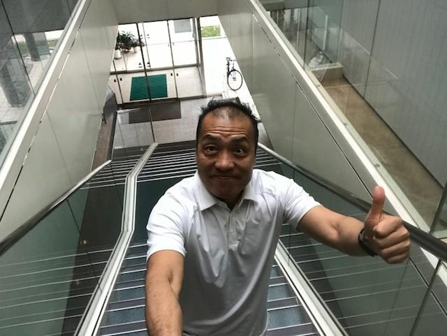 階段は.エクササイズだ!