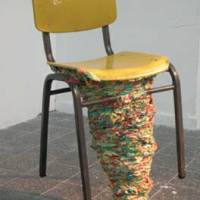 adi meirtchak + adva noach: gum pile chair.