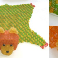 yaya chou: gummi bear bear.