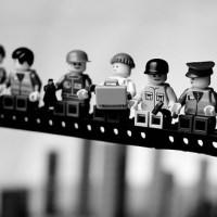 "mike stimpson: ""classics in lego""."