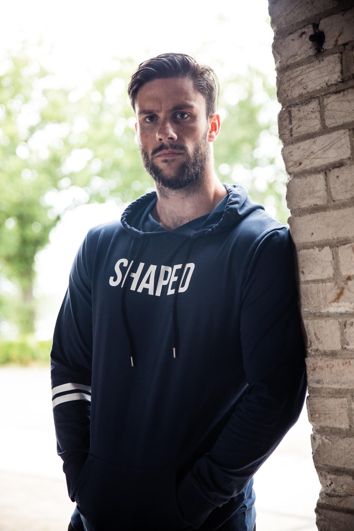 Shaped hoodie