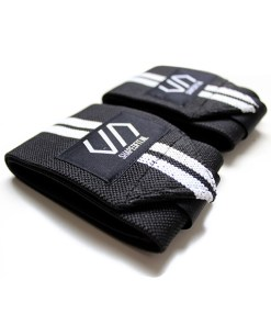 Shaped Striped Wrist Wraps