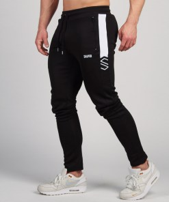 Shaped Muscle Fit Trainingsbroek Zwart
