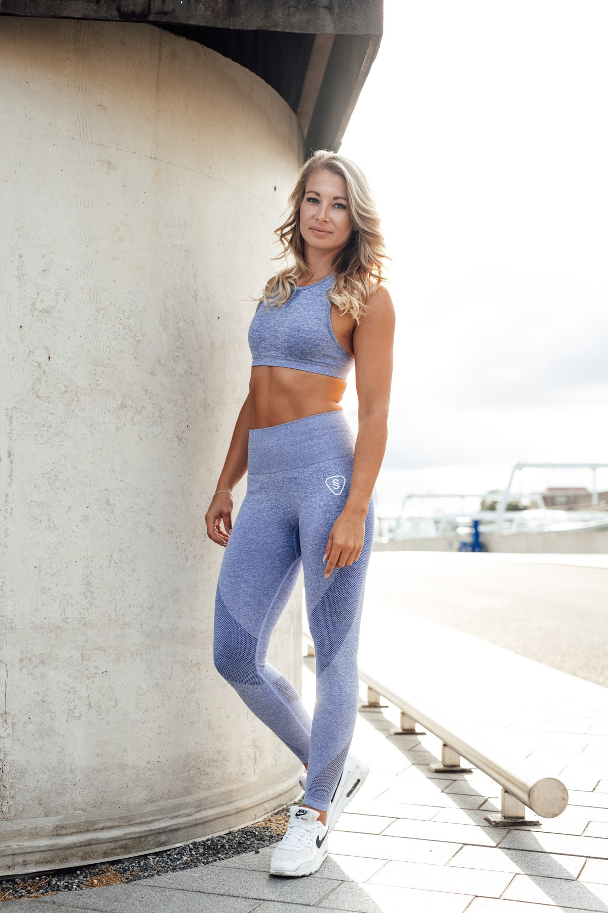 High waist dameslegging