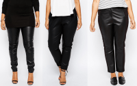 15 Pairs of Plus Size Leather Pants/Leggings - Shapely ...