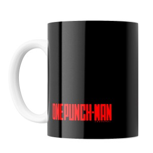 Taza Saitama Black One Punch Man