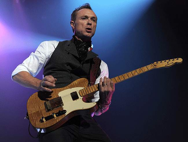 """Gary Kemp in Dublin: """"can still whack out a tune"""", said the Irish Times. Picture © by Brian Rasic"""
