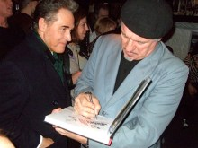 Cultural observer Peter York: eager for the Sullivan autograph on the new edition