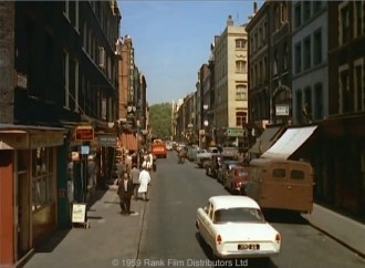 Frith Street, Soho, in 1959