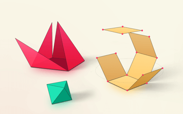 Geometry Shapes 3d