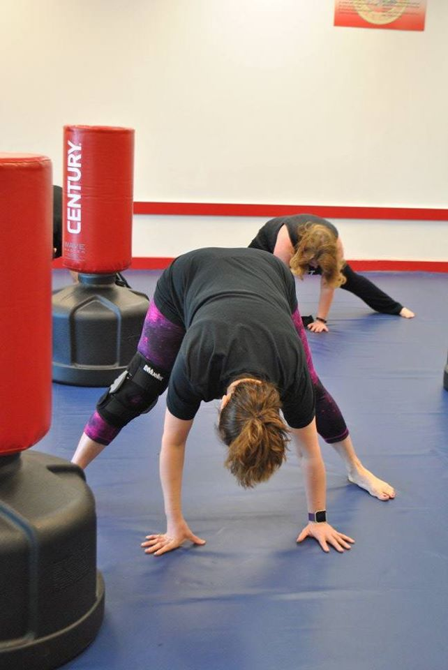 Increase flexibility with Fitness Kickboxing