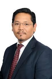 Mr.Conrad Sangma C,M OF Meghalaya