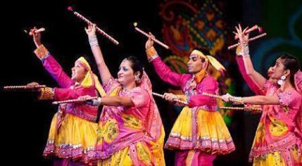Dandia, Garba and Navratri celebration in Gujarat,