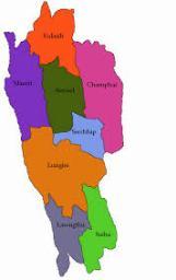 Map of Mizoram, CBSE ART INTEGRATION PROJECT