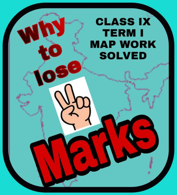 GEOGRAPHY MAP WORK COMPLETE GUIDANCE FOR TERM I