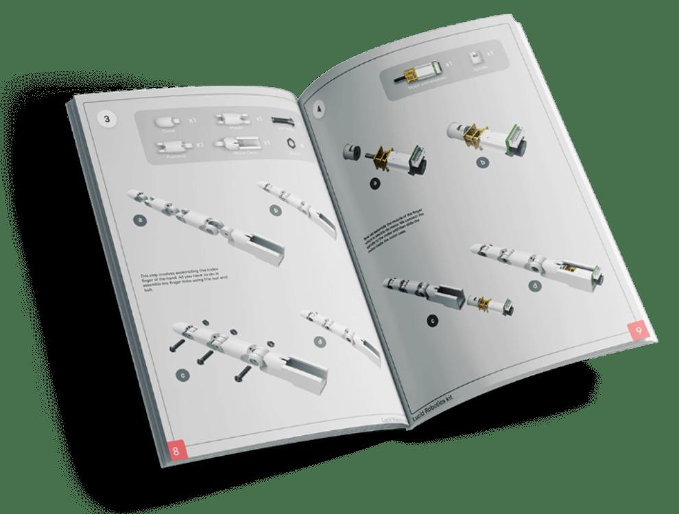 Lucid robotics kit manual
