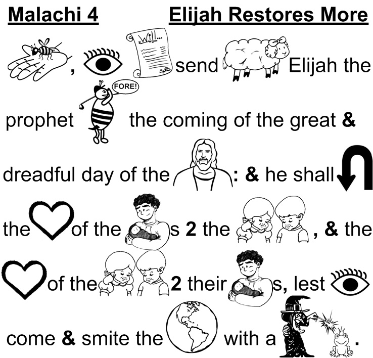 "Who is the ""ELIYAHU/ELIJAH"" of Malachi 4?"
