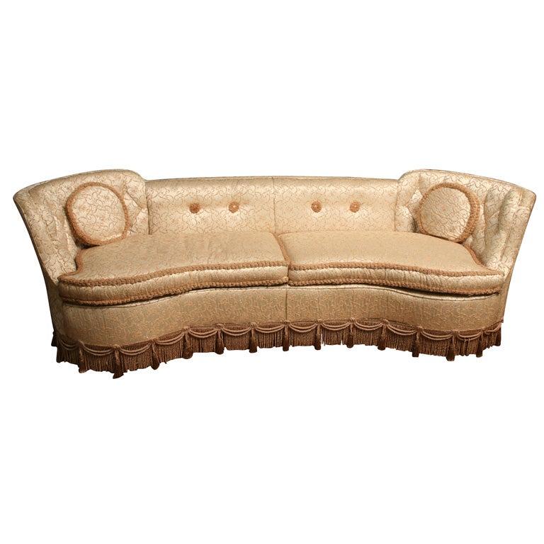 Hollywood Glam Sofa At 1stdibs