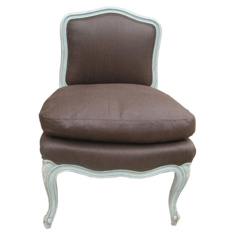Louis XV Style Boudoir Chair at 1stdibs