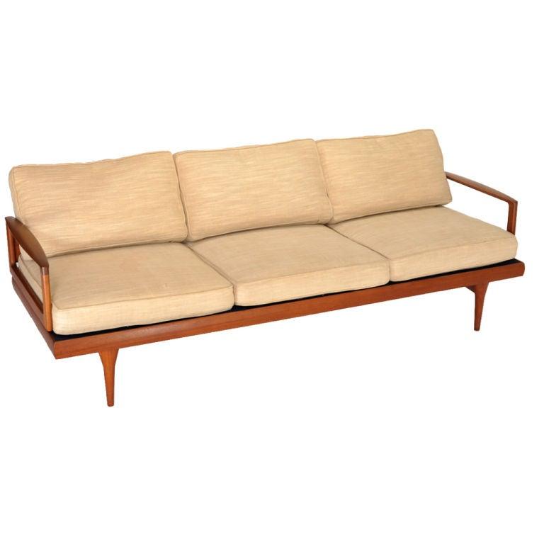 Danish Modern Teak Sofa at 1stdibs