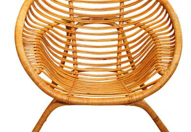 Round Bamboo Chair