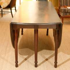 Pre Tables And Chairs Chair Covers In Spanish Large American Civil War Drop Leaf Dining Table At 1stdibs