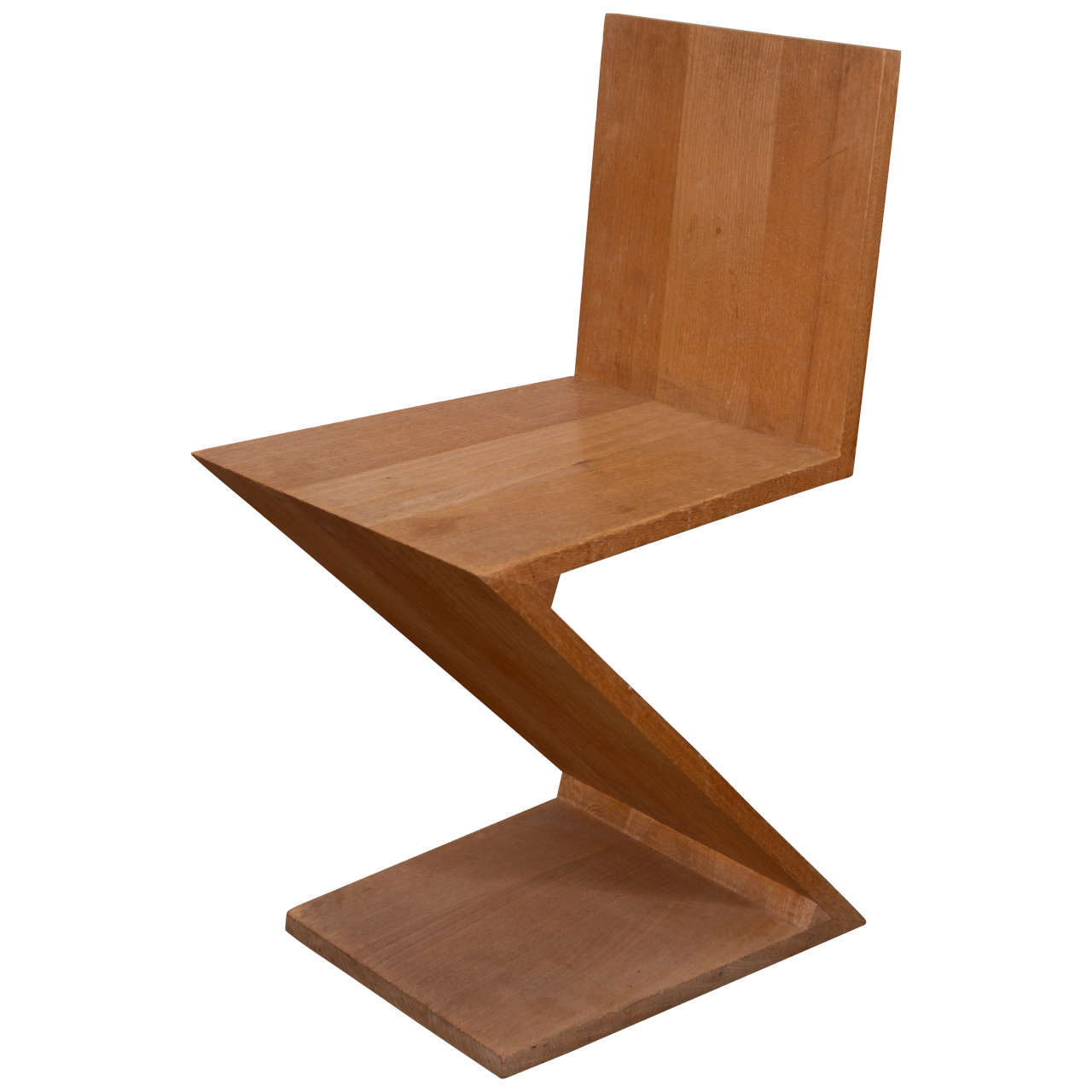 gerrit thomas rietveld chair 2 piece slipcover zig zag by at 1stdibs