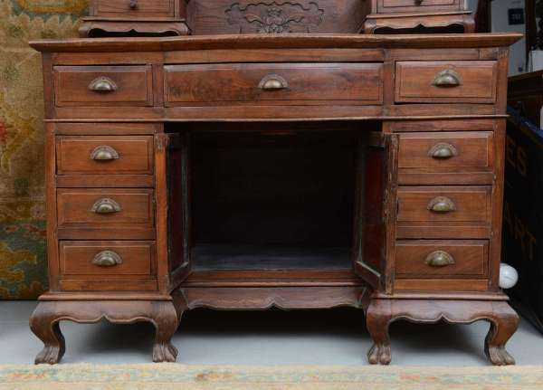 Asian Chinese Vanity Dressing Table Desk 19th Century