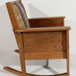 Mission Recliner Chair Plans Walmart Table And Sets Late 19th Century American Craftsman Style Oak