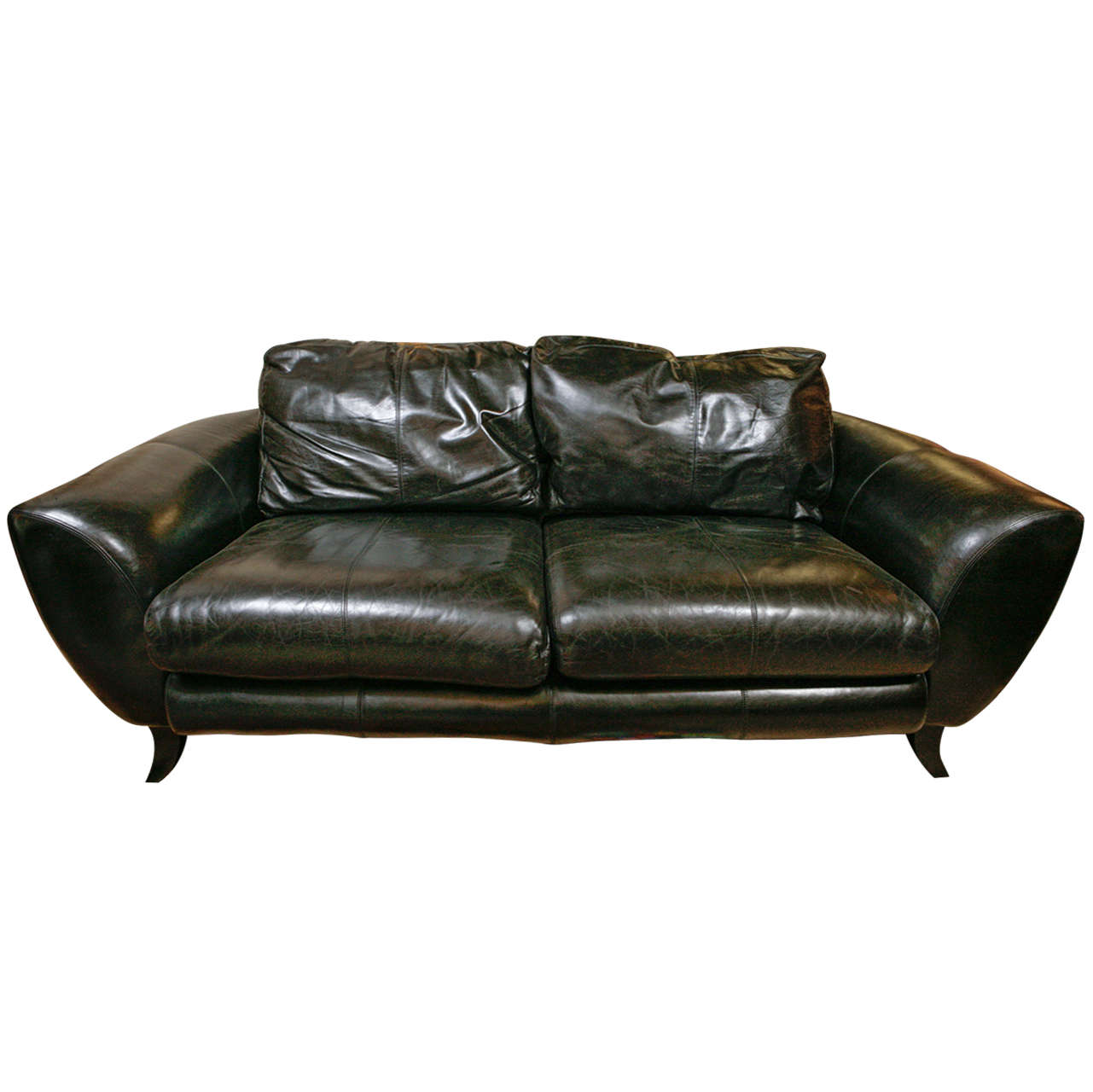 drexel heritage sofa prices bliss leather and loveseat set vintage black by at 1stdibs
