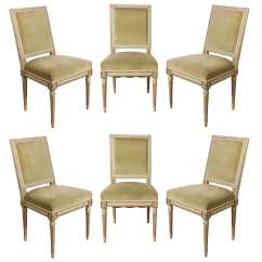 Louis Dining Chairs Stackable Conference Set Of Six Xvi At 1stdibs