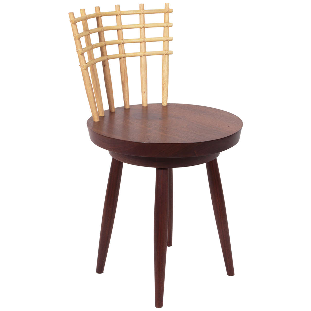 revolving chair laz boy george nakashima woodworker 2009 ligne