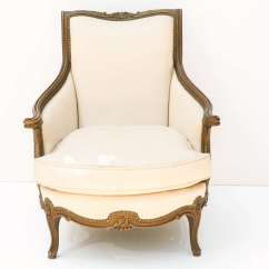 French Bergere Chair Recliner Arm Covers Antique At 1stdibs
