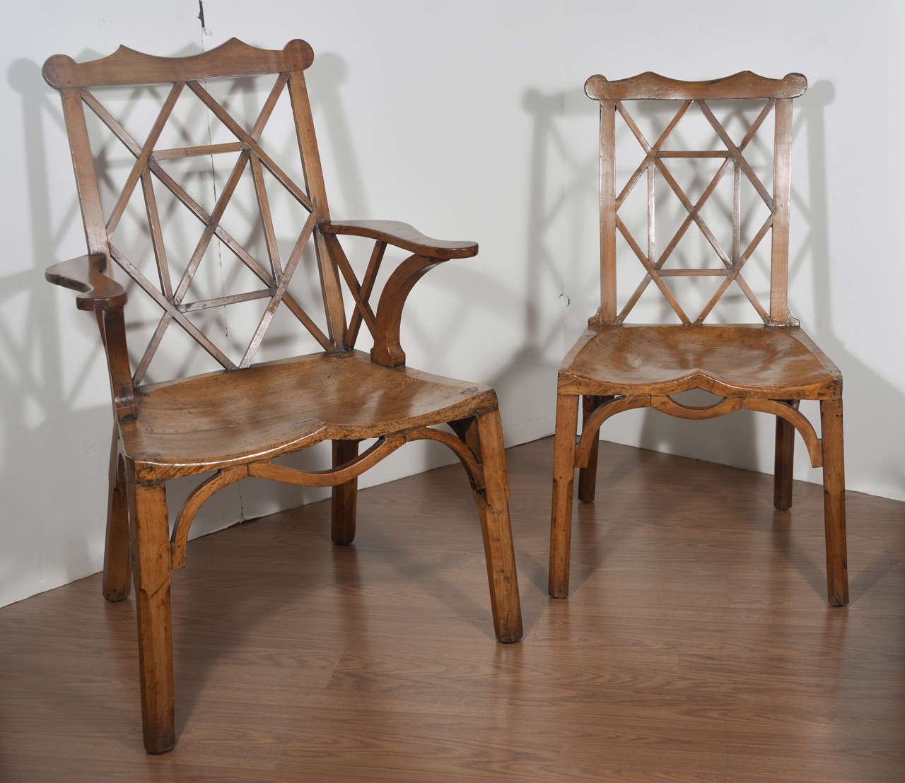chinese chippendale chairs fold up high chair seat set of 10 period dining circa
