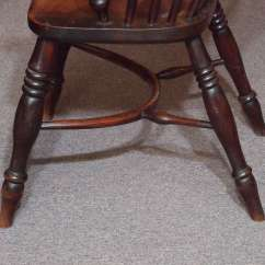 Antique Windsor Chair Identification Kohls Massage English Elm And Ash With Crinoline