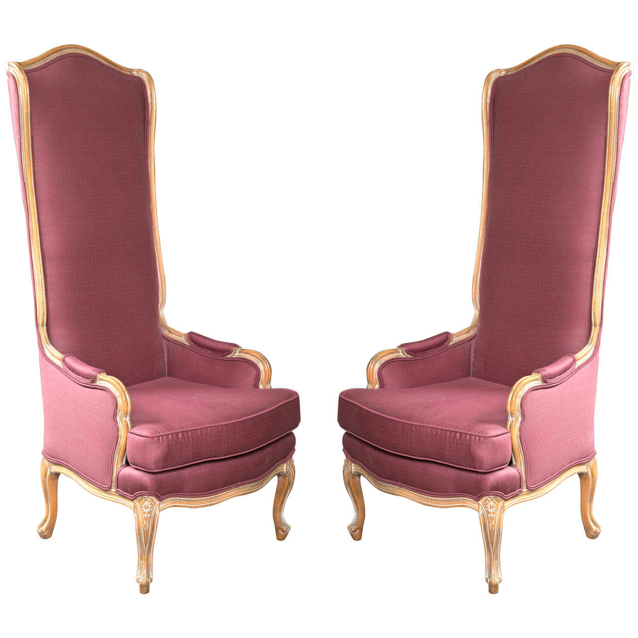 stylish high chair x rocker gaming power adapter french style back chairs at 1stdibs