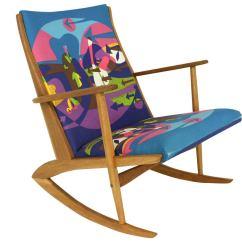 Modern Rocking Chair Singapore Allsteel Acuity Mid Century By Holger Georg Jensen