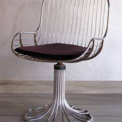 Chrome Dining Chairs Australia Upper Back Support For Office Chair Italian 1970s Set At 1stdibs