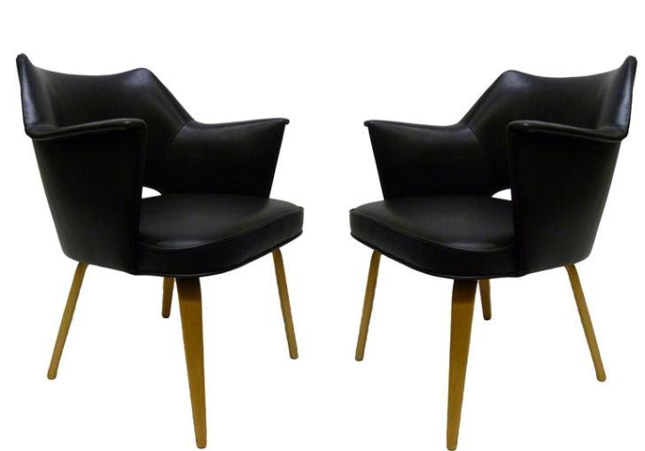 Mid Century Thonet Chairs