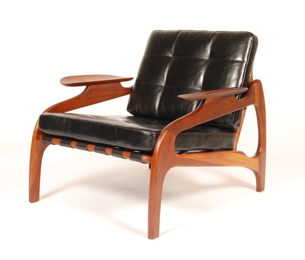 adrian pearsall lounge chair anatomy design and construction at 1stdibs