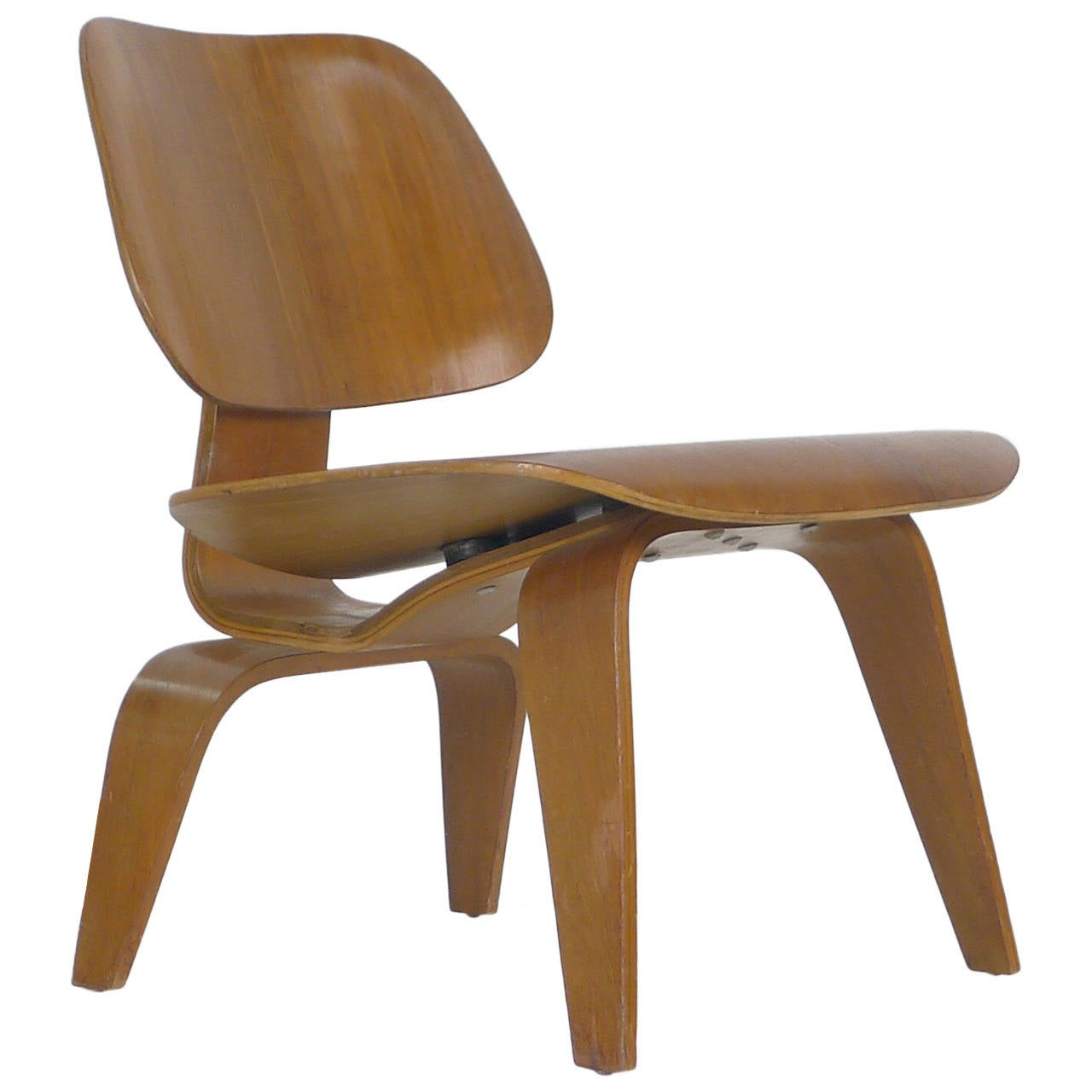 Eames Chair Price Charles Eames Lounge Chair Wood Quotlcw Quot At 1stdibs
