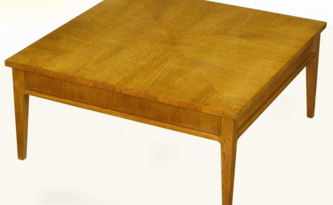 Michael Taylor For Baker New World Mahogany Coffee Table