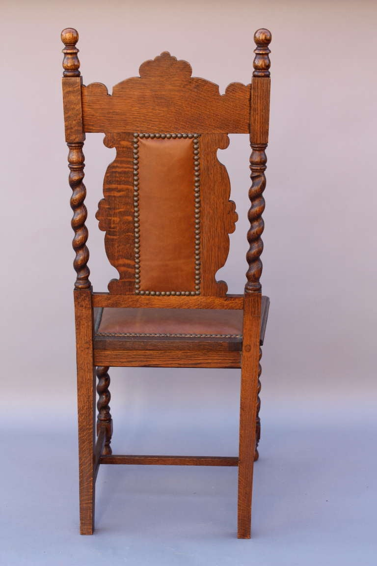 art deco club chairs leather chair covers big lots antique set of 1920's carved 8 at 1stdibs