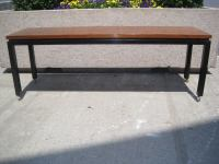 Harvey Probber Attributed Rolling Bench / Sofa Table at ...