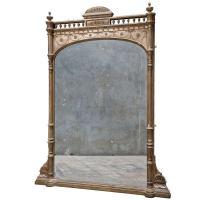 English Gilted Mantel Mirror at 1stdibs